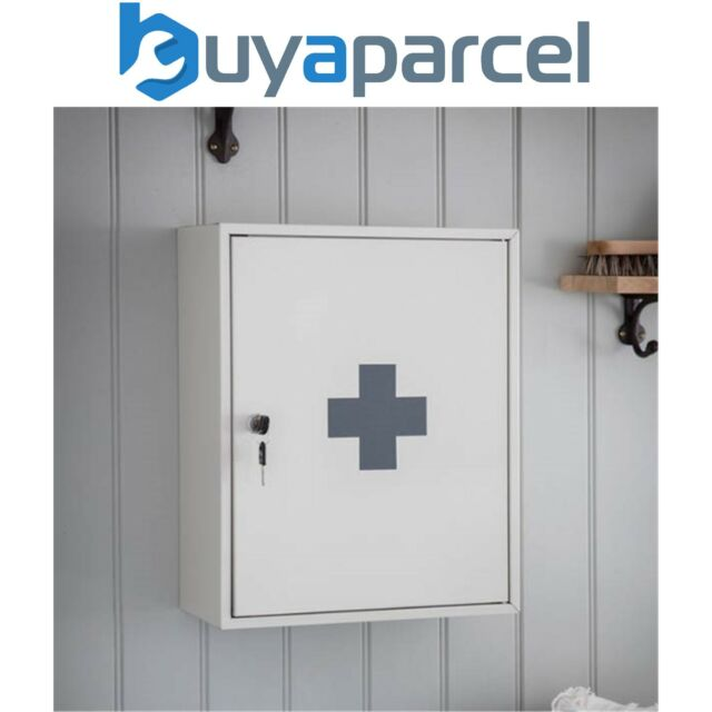 garden trading first aid wall cabinet chalk for sale online ebay rh ebay co uk metal first aid wall cabinet first aid wall cabinet empty
