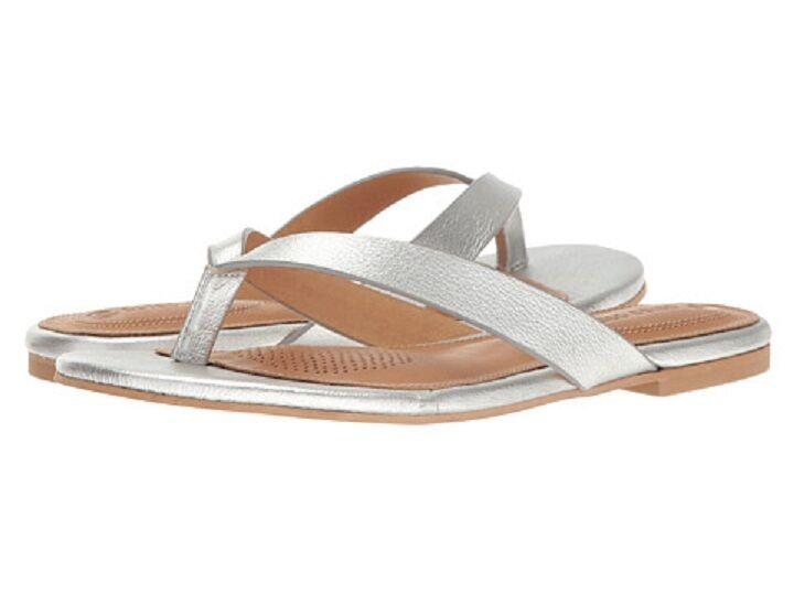 NEW CC Corso Como Volley purple Flip Flop Sandals Silver Size 7  59 Retail