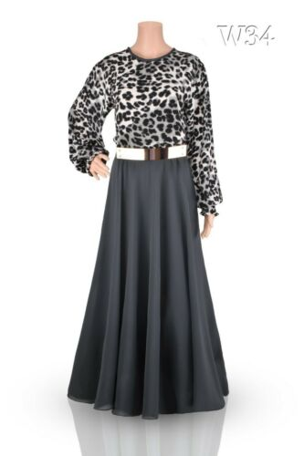 "Lengths 48,49,50,51,52,53,54,55,56/"" UK Size s 10 /& 14 Dress// Abaya// Jilbab"