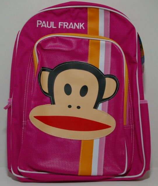 BACKPACK PAUL FRANK PINK NEW WITH TAGS