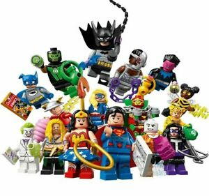 NEW-LEGO-71026-Complete-Set-Of-16-Minifigures-DC-Series-Superheroes-Minifigs