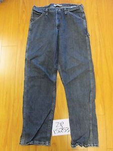 Used Lee 2887991 Carpenter Fit Grunge Jean Tag 36x34 Meas