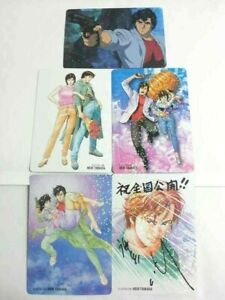 City Hunter Shinjyuku Private Eyes Mini Card X5 Ryo Saeba Kaori