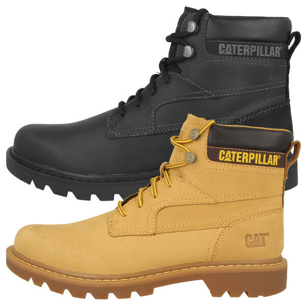 CAT Caterpillar Bridgeport Stivali Uomo Outdoor Boots Uomo Scarpe da lavoro p719