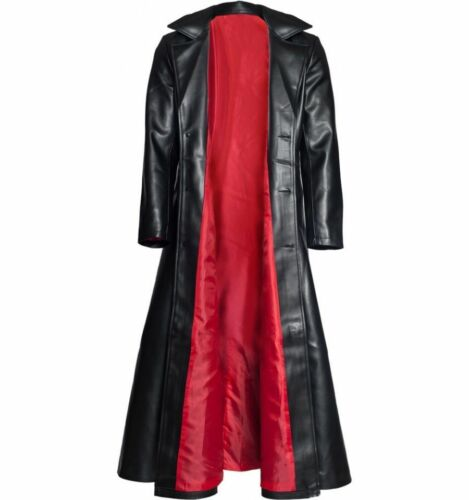 Wesley Snipes Blade Trinity Leather Long Trench Coat