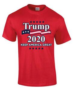 DONALD-Trump-2020-rendere-di-nuovo-l-039-America-Grande-Rosso-Uomini-Donne-Unisex-T-shirt-3803