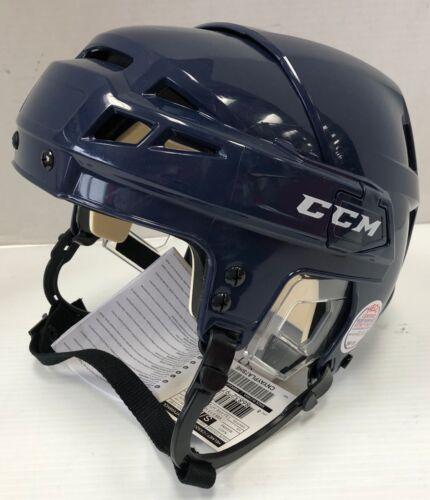 New CCM V08 Olympic Pro Stock//Return Navy size Small Europe ice hockey helmet