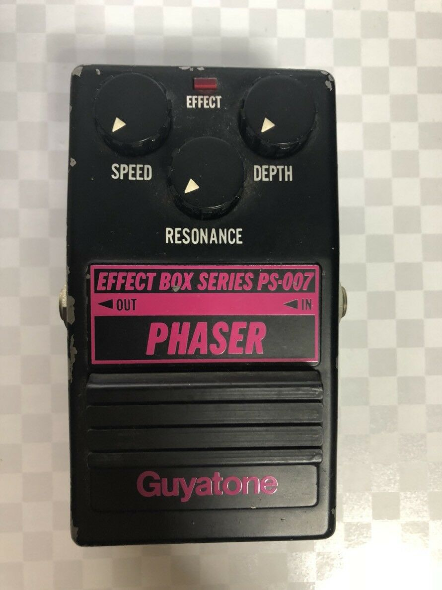 GUYATONE PHASER PS-007 Guitars Effects Pedals  MIJ  FREE SHIPPING