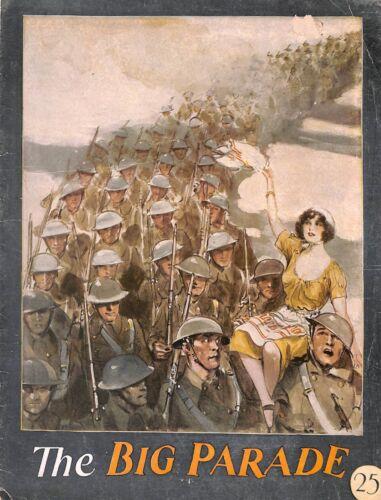 The Big Parade.Programme.MGM.John Gilbert.1925.Renee Adoree.WW1.1920's