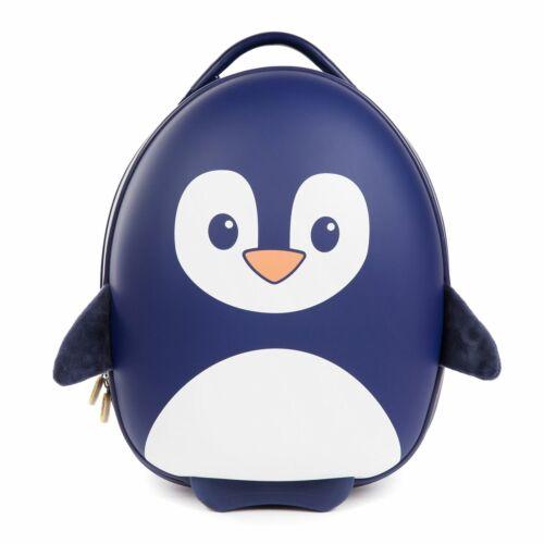 Pingouin Bleu Boppi Enfants Baggage A Roulettes à Tirer Étui Boîte