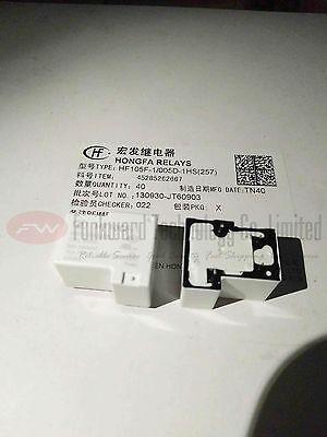 HF105F-1//005D-1HS Power Relay 30A 5VDC 4 Pins x 10pcs 257