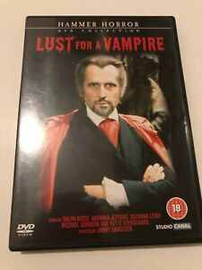 LUST FOR A VAMPIRE 1971 HAMMER MOVIE Ralph Bates Barbara Jefford DVD COME NUOVO