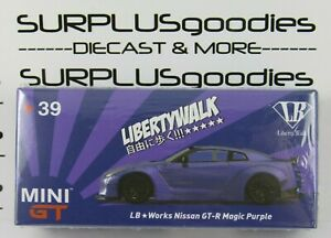 TSM-Model-Mini-GT-Japan-Exclusive-LB-Works-LibertyWalk-NISSAN-GT-R-Magic-Purple