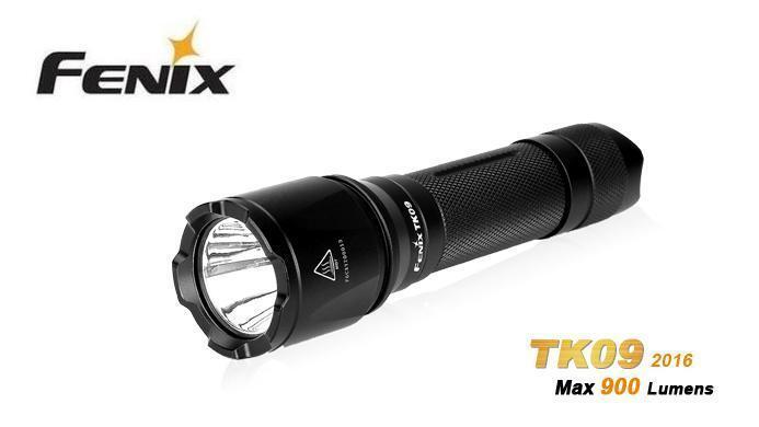 New Fenix TK09 Cree XPL HI 900 Lumens LED Flashlight Torch
