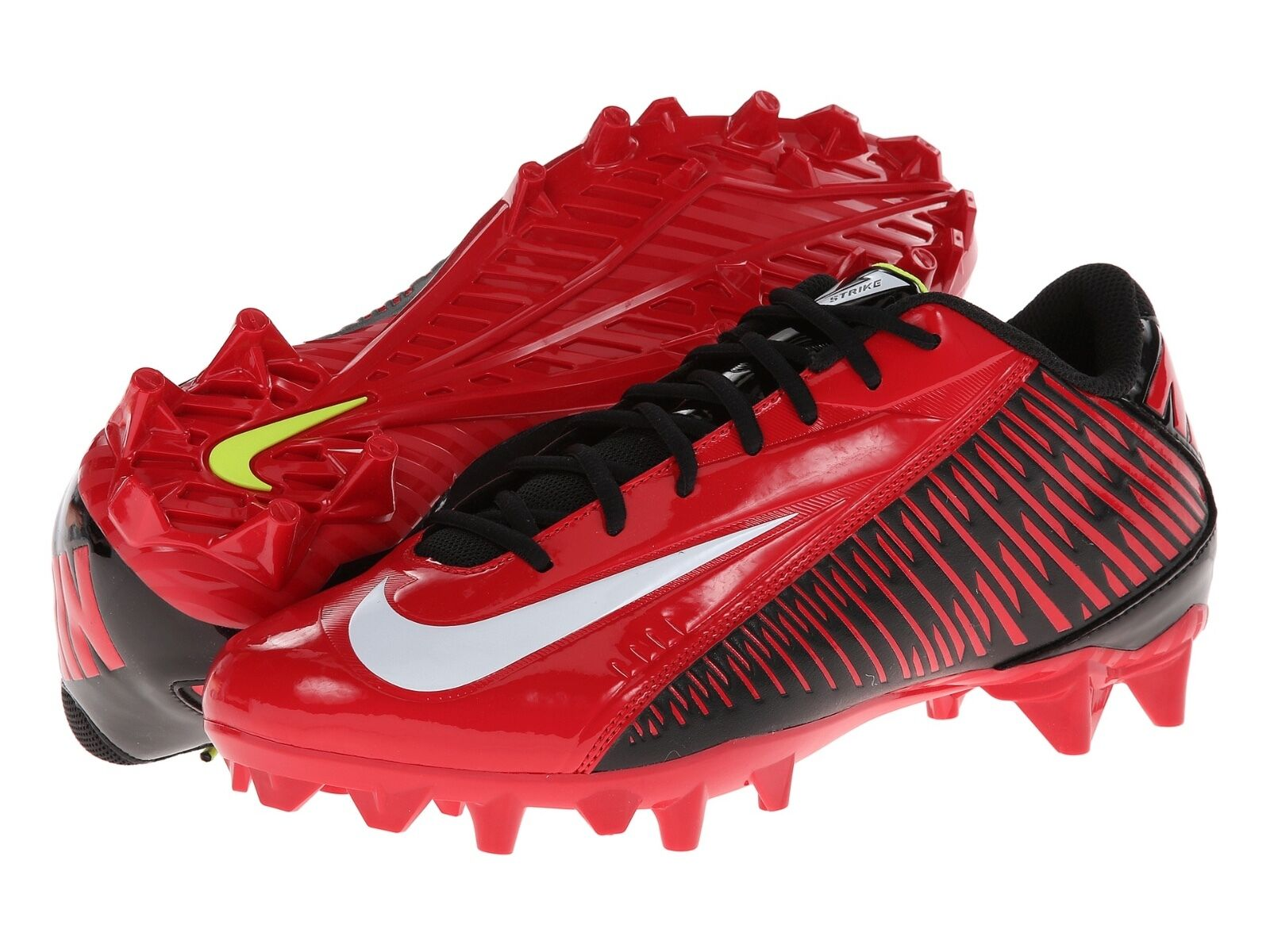 mens 9.5/12 nike vapor strike 4/iv TD low molded football/lacrosse molded cleats The latest discount shoes for men and women