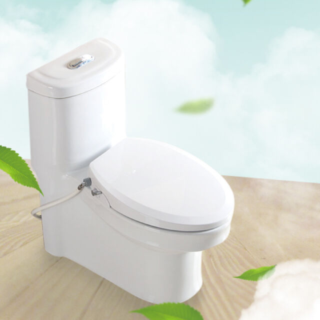 Pleasing Non Electric Bidet Toilet Seat For Elongated Toilet Easy Installation White Forskolin Free Trial Chair Design Images Forskolin Free Trialorg