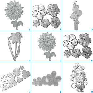 3D Flower Cutting Dies Metal Stencil DIY Scrapbooking Album Paper Card Craft UK