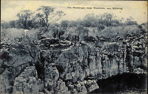 Mafeking-Mahikeng-Suedafrika-South-Africa-1910-Wondergat-Waterhole-Landschaft