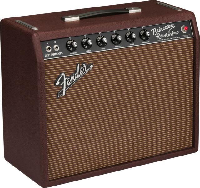 Fender '65 Princeton Reverb Brit Sable G12H65 Limited Edition 120V Amplifier