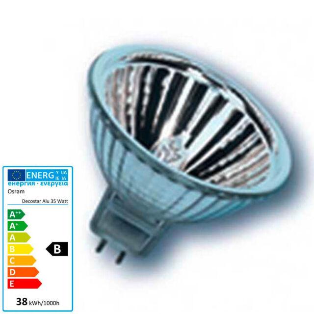 OSRAM Halogen-Lampe Decostar 51 s 44860 44865 44870 WFL 12V 20W 35W 50W Mr16