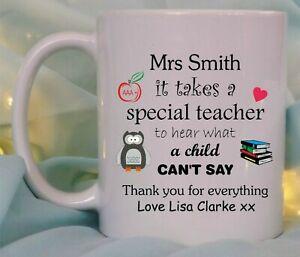 Personalised keep calm great teacher mug//coaster thank you end of term christmas