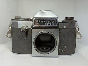 Ancien appareil photo argentique boitier Praktica PL Nova IB 1B