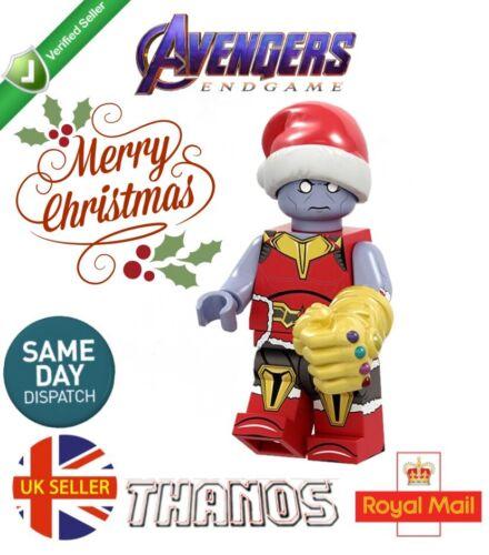 Thanos Mini Figure Iron Man Infinity Gauntlet Hulk Avengers Marvel UK Seller