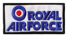 Ecusson patche thermocollant Royal Air Force pilote transfert patch RAF brodé