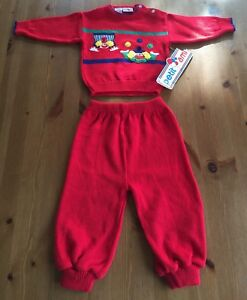 968e545a897 Petit Ami Boys 12ms Red Clown Knit Two Piece Outfit Sweater   Pants ...