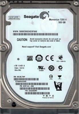 9HV144-032 F//W Seagate ST9500420AS P//N 0003SDM1 500GB WU