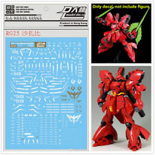 D.l High Quality Decal Water Paste Rg25 for Bandai RG 1/144 Msn-04 Sazabi Gundam