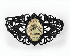 Ouija Board Occult Gothic Horror Haunted Halloween HANDMADE USA Cuff Bracelet