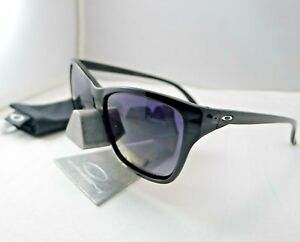 99fdb24a9e Image is loading OAKLEY-HOLD-ON-POLISHED-BLACK-GREY-GRADIENT-POLARIZED-