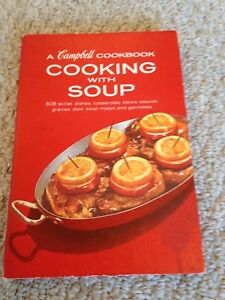 Vintage Cookbook/Cooking with Soup/A Campbell Cookbook