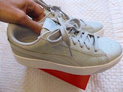 Women's Shoes Puma Vikky Platform grey