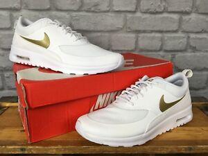 en 95 Eu Zapatillas £ de blanco Uk oro deporte 8 blanco Thea Essential 5 Nike Ladies metálico 42 4TqtPq8