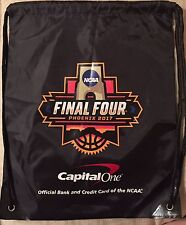 2017 NCAA BASKETBALL Capital One Final Four Phoenix Drawstring BAG Game Giveaway