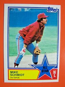 Details About 1983 Topps Baseball Cards Complete Your Set U Pick 1 Or More
