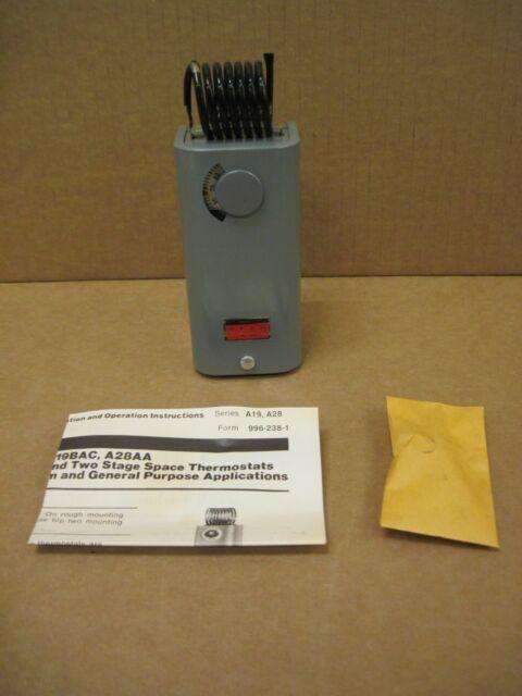 Johnson Controls BASO Penn Baso A19ADB-1 A19  A19ADB    Temperature Control NEW!
