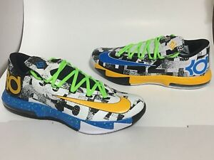 ac6bab80196e Nike iD KD 6 Golden State Warriors MVP What the Size 10 men s