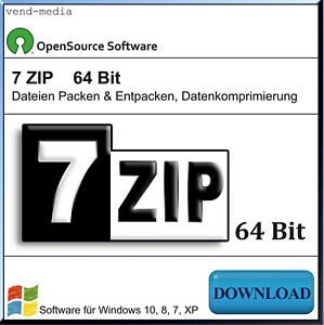 WINZIP-ZIP-UNZIP-7zip-RAR-Packprogramm-fuer-Software-Dateien-Packen-64-Bit