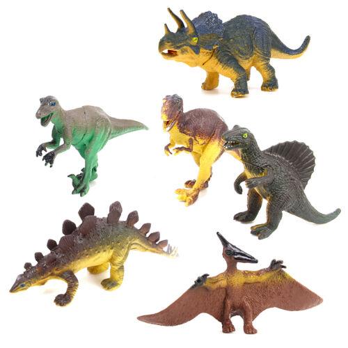 Action Figure Animal Dinosaurs Toy Kids Children Jurassic Realistic Dinos