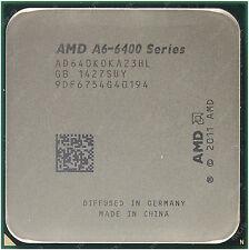 AMD FM2 A6-6400K 3.9 Ghz Dual Core, 4.1 Ghz OC with Heatsink/Fan/Silicon