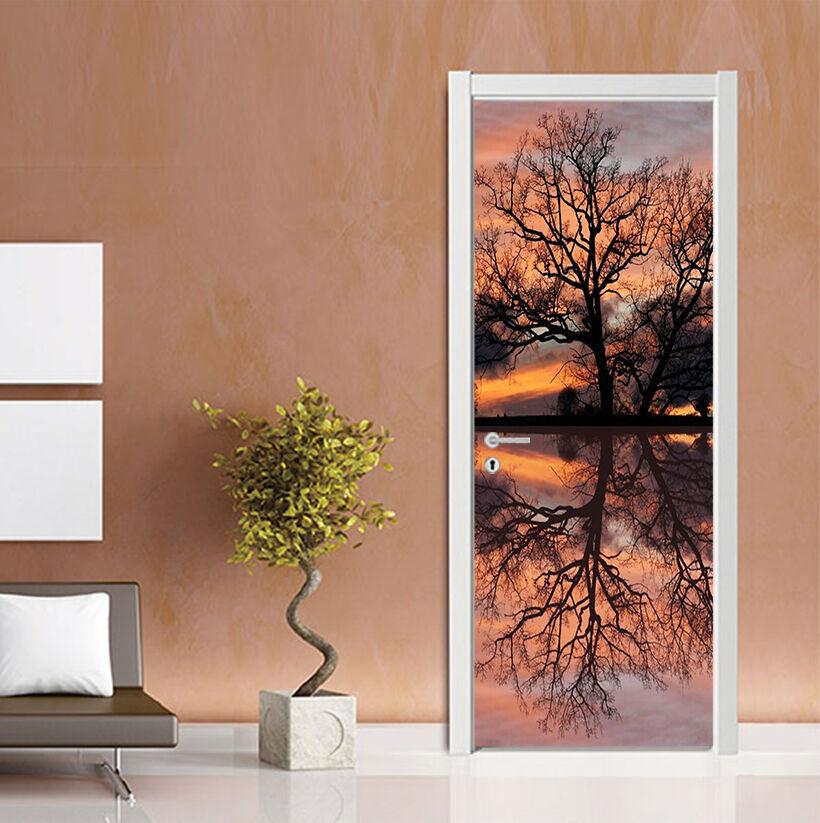 3D Zweige 82 Tür Wandmalerei Wandaufkleber Aufkleber AJ WALLPAPER DE Kyra