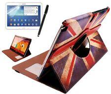 Funda protectora para Samsung Galaxy Note 10.1 p600 (2014) Inglaterra gb UK bolso Case