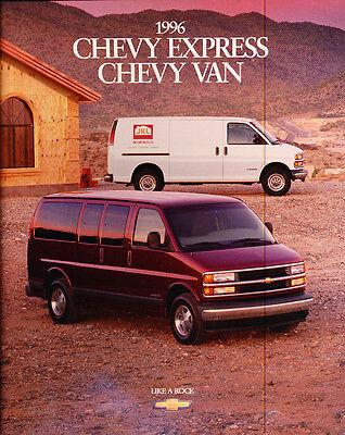1996 Honda Odyssey Van 20-page Original Car Sales Brochure Catalog
