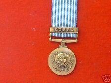 Quality UN Korea Miniature Medal
