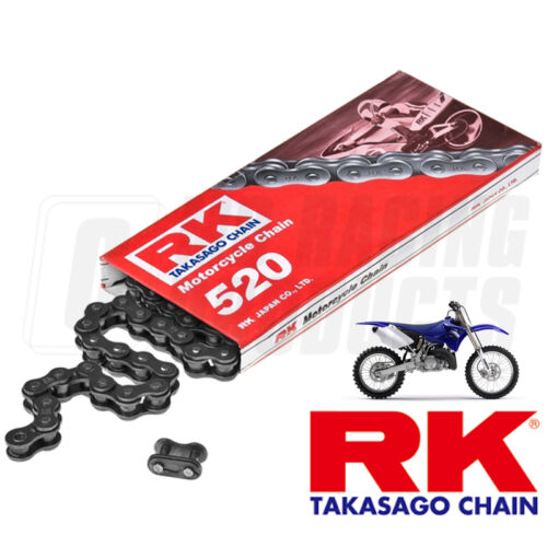 RK 520 Standard Chain X 118 Links Black