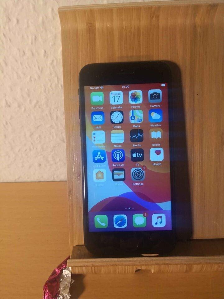 iPhone 8, 64 GB, sort
