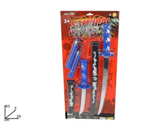 Samurai Spada Katana E Arco Giocattolo Gioco Bambini sar